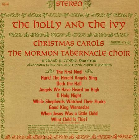 The Tabernacle Choir At Temple Square Discography